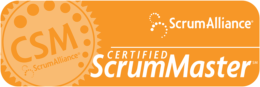 CSM logo - Mastering the Scrum Process